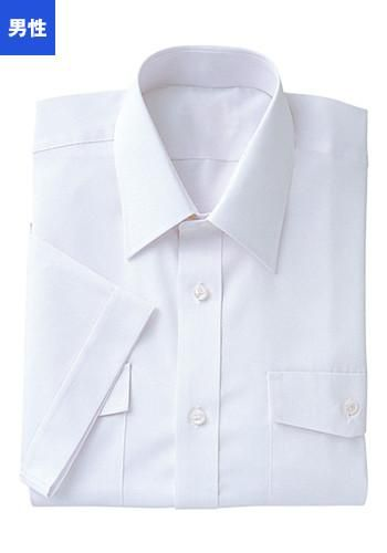 [フェローズ]フォーマル 半袖シャツ