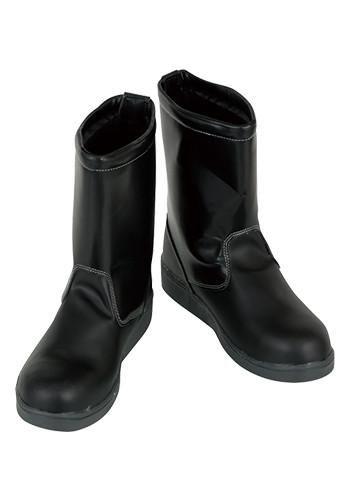 安全靴 舗装職人半長靴 スチール先芯
