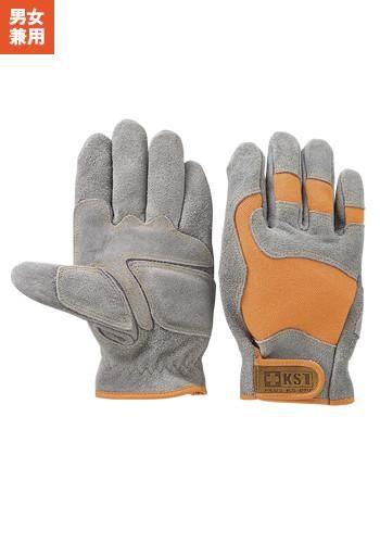 [一旦、非表示][おたふく手袋]立体革手