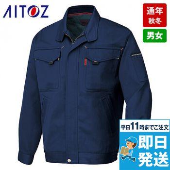 アイトス AZ6530 愛着楽綿 綿100%ツイル長袖ブルゾン 秋冬・通年