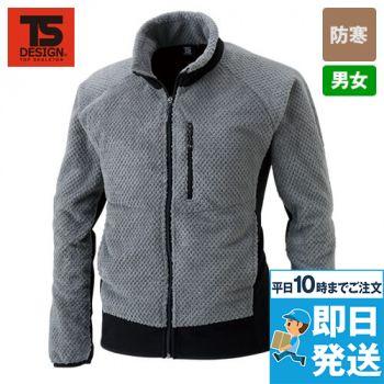 TS DESIGN 4236 [秋冬用]マイクロファーロングスリーブジャケット(男女兼用)