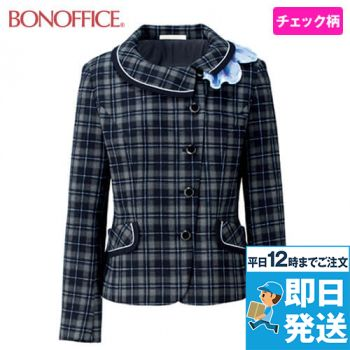 BONMAX BCJ0116 [通年]ファンシータータン ジャケット(リボン付き) チェック