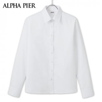 AR1400 アルファピア 長袖シャツ[消臭/抗菌防臭/形態安定]
