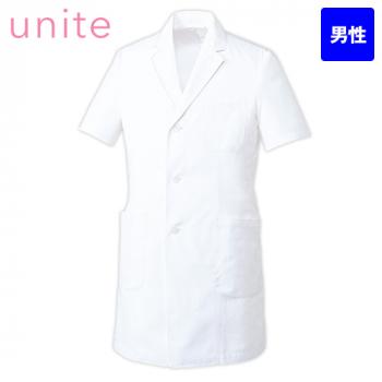UN-0099 UNITE(ユナイト) 涼しいドクターコート/半袖(男性用)