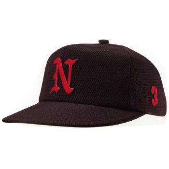 スーパーオールメッシュ六方型野球帽(アジ