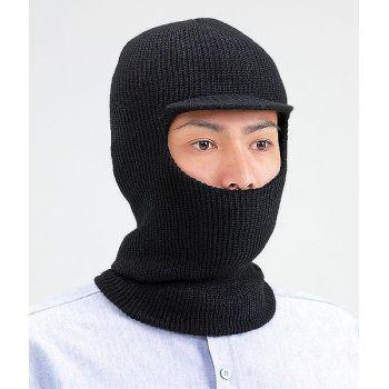 [シンメン]つば付き目出し帽(5個セット