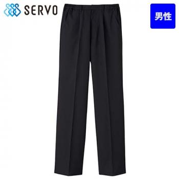 BF-5436 Servo(サーヴォ) 黒パンツ(男性用)(股下フリー)