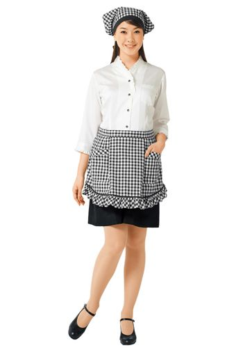 黒×白の着用例