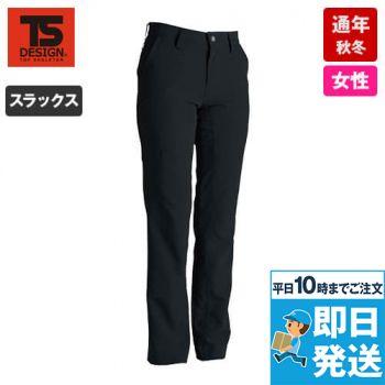 TS DESIGN 846121 ストレッチタフ レディースパンツ(無重力パンツ)(女性用)