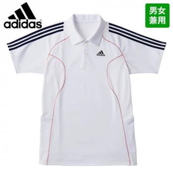SCS731-10 18 adidasアディダス ポロシャツ(男女兼用)