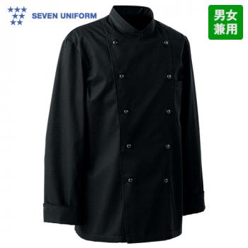 BA1220 セブンユニフォーム 長袖/カラーコックコート(男女兼用)