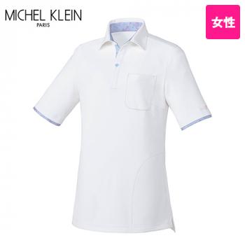 MK-0035 ミッシェルクラン(MICHEL KLEIN) ニットシャツ(女性用)