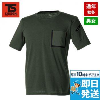 8555 TS DESIGN TS DELTA プレスワークTシャツ