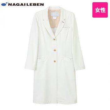 LH6260 ナガイレーベン(nagaileben) 女子シングルドクターコート