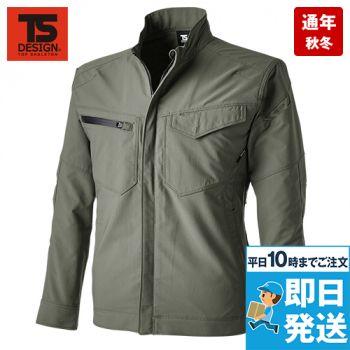 TS DESIGN 4616 エコハイブリッドダブルクロス ジャケット(男女兼用)