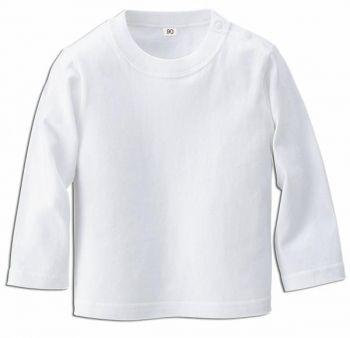 ベビーロングスリーブTシャツ(ホワイト)