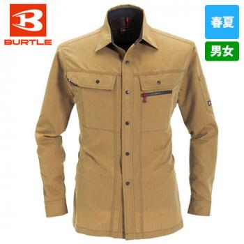 8063 バートル ヴィンテージライトチノ長袖長袖シャツ