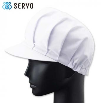[サンペックス]食品工場 ツバ付帽子 T
