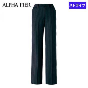 AR5847 アルファピア [通年]パンツ ストライプ[防シワ商品]