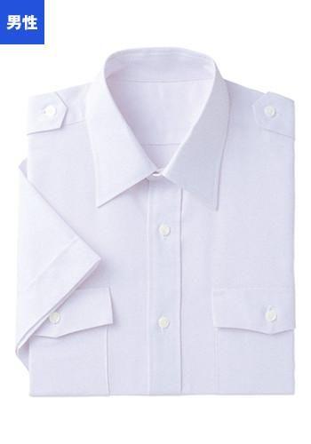 [フェローズ]フォーマル 半袖シャツ(肩
