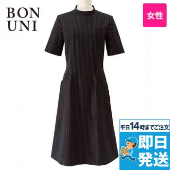 16211 BONUNI(ボストン商会) ワンピース/半袖(女性用) ストライプ