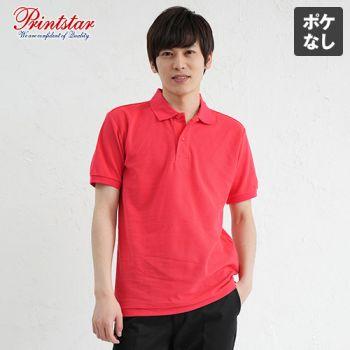 00141-NVP T/Cポロシャツ(ポケ無し)(5.8オンス)(男女兼用)