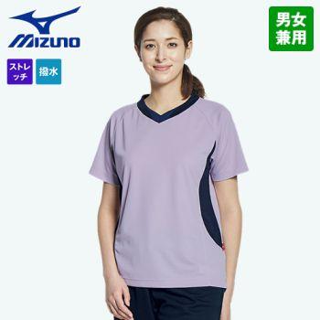 MZ-0198 ミズノ(mizuno) 入浴介助用ニットシャツ(男女兼用)