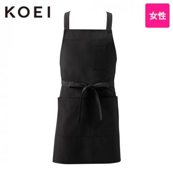 KI950 興栄繊商 軽量胸当てエプロン(女性用)