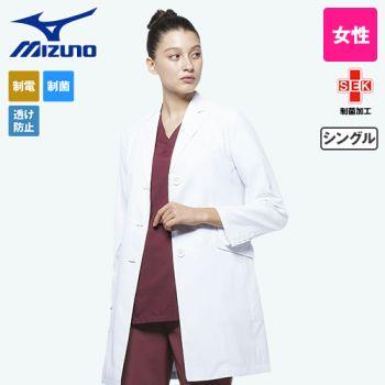 MZ-0023 ミズノ(mizuno) レディースドクターコート・シングル(女性用)