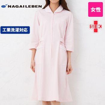 MI4636 ナガイレーベン(nagaileben) ミレリア 七分袖ワンピース(女性用)