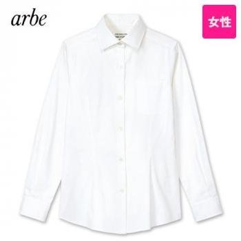 KM-8376 チトセ(アルベ) ワイドカラーシャツ/長袖(女性用)