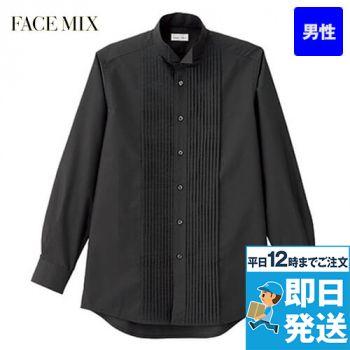 FB5045M FACEMIX ピンタックウイングシャツ(男性用)