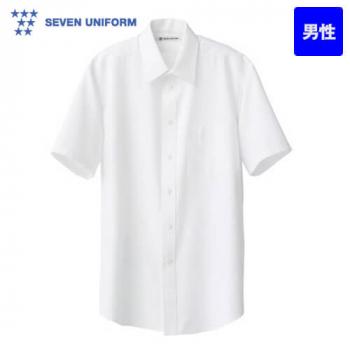 CH4419 セブンユニフォーム 半袖シャツ(男性用) 無地