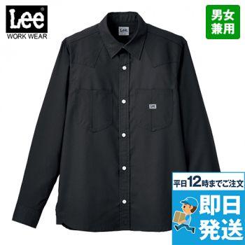 LCS49001 Lee ユニセックス長袖シャツ