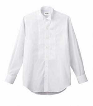 ピンタック ウイングカラーシャツ(男性用
