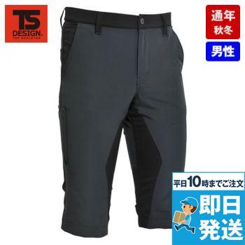 TS DESIGN 846345 ハイブリッドストレッチ ショートパンツ(男性用)