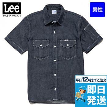 Lee LWS46002 メンズワーク半袖シャツ(男性用)