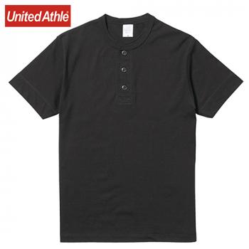 ヘンリーネック Tシャツ(5.6オンス)(男女兼用)