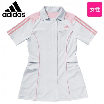 SMS002-10 11 13 18 アディダス ナースジャケット(女性用) ベンチレーション 大容量両サイドポケット