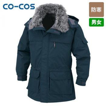 [コーコス]作業服 防寒コート