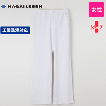CD2818 ナガイレーベン(nagaileben) キャリアル ブーツカットパンツ(女性用)