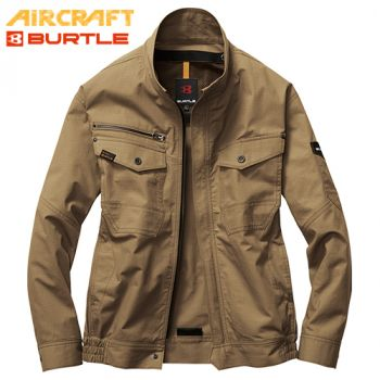 バートル AC1131 エアークラフト 長袖ブルゾン(男女兼用) 綿100%