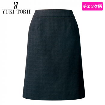 YT3921 ユキトリイ Aラインスカート チェック