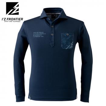 701 アイズフロンティア ストレッチドライ長袖ポロシャツ