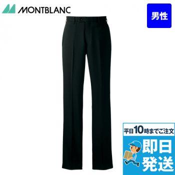 BM7601 MONTBLANC パンツ(ノータック・裏地付)(男性用)
