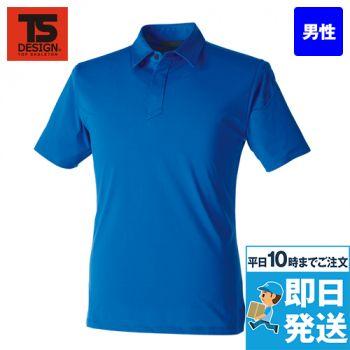 TS DESIGN 91055 [通年]TS 4Dメンズショートポロシャツ