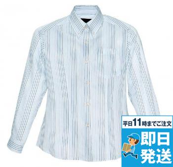 レディース長袖シャツ(柄)