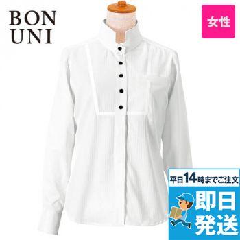 24212 BONUNI(ボストン商会) シャツ/長袖(女性用) ドビーストライプ