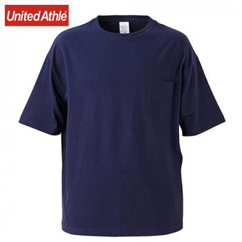ビッグシルエットTシャツ(ポケ付)(5.6オンス)