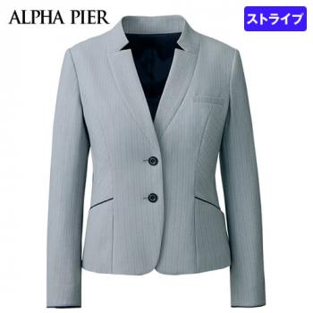 AR4881 アルファピア ジャケット ストライプ(防シワ/防汚)
